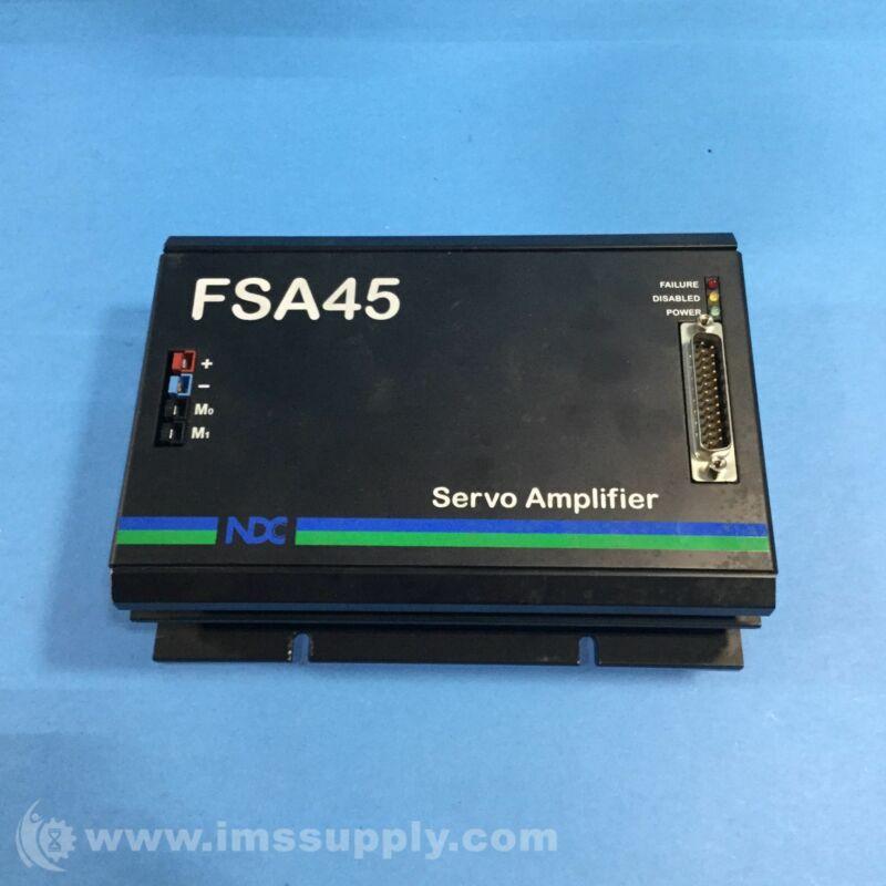 Danaher Motion 16097-06A NDC FSA45 Servo Amplifier USIP