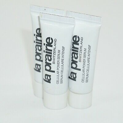 La Prairie *Lot of 3x* Cellular Power Serum 0.10oz.Travel Size [New Without Box]