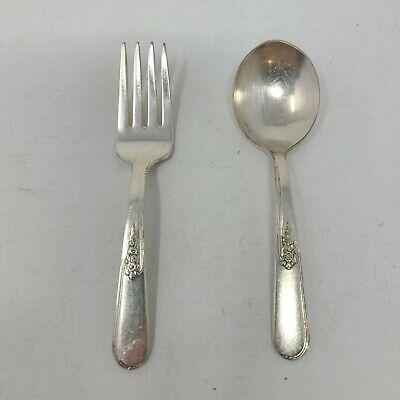 Vintage antique 1914 Holmes and Edwards  piecake pierced fork server
