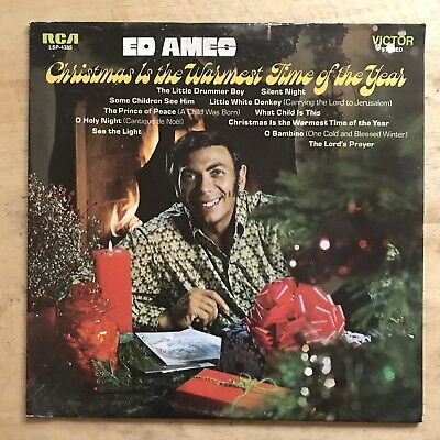 Ed Ames – Christmas Is The Warmest Time Of The Year ()
