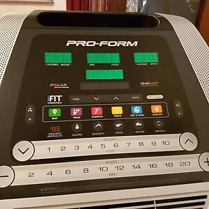 As New Pro-form Performance 1050 Treadmill/ifit/acc kit/heart mon Adamstown Newcastle Area Preview