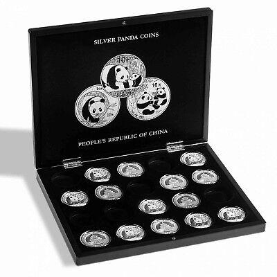 Kassette für 20 Panda Silbermünzen in Kapseln Leuchtturm Münzkassette Nr 344580