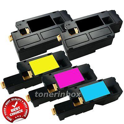 5 Pack Toner Set For Xerox Workcentre 6027 6025 Phaser 6022 6020 106R02759