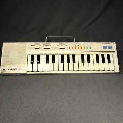 Casio pt-1 Keyboard works with 9V adapter READ