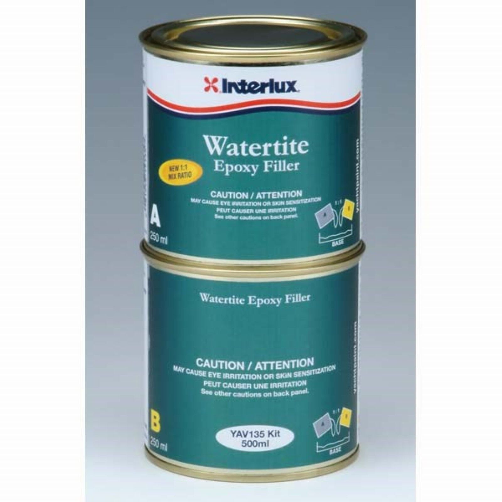Marine Epoxy Paint : Interlux yav l watertite part epoxy marine