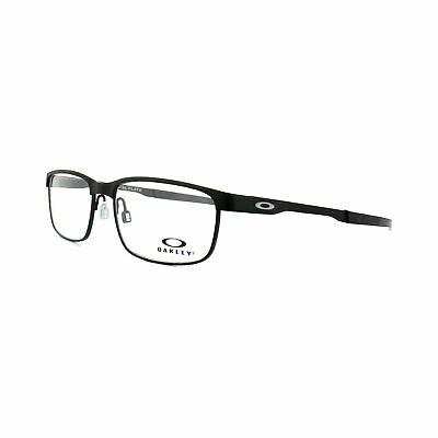 Oakley Glasses Frames Steel Plate OX3222-0154 Powder Coal Optical (Oakley Glasses Frames For Men)