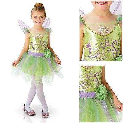 Trilly Carnival Dress Original Deluxe Disney Tinkerbell Costume - Original Tinkerbell Costume