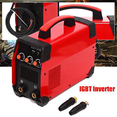315amp Portable Electric Stick Welding Machine Arc Inverter Welder Mma 110-560v