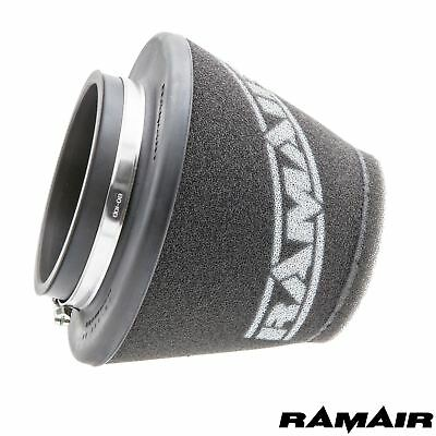 Ramair Performance Universal Induction Intake Short Foam Air Filter - 90mm ID