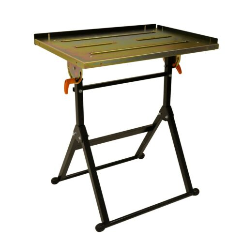 Adjustable Steel Welding Table Strong Hold Industrial Workbench