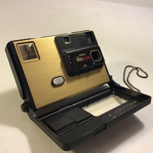 Vintage Kodak Disc 8000 Disk Film Camera Retro Point & Shoot Photography Swanky