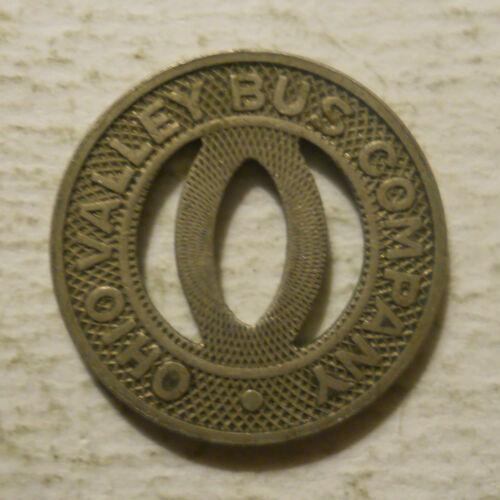 Ohio Valley Bus Company (Huntington, West Virginia) transit token - WV290E