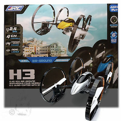 DRONE - CAMERA DRONE H3 AIR-GROUND QUADCOPTER DRONE WITH HD CAMERA - SILVER