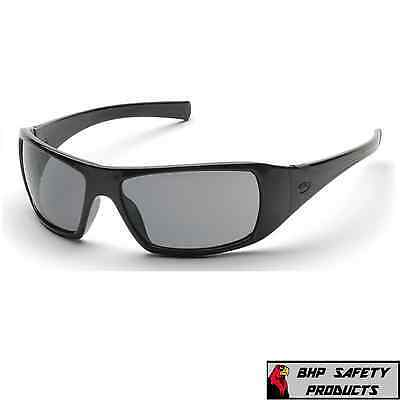 2d1a67df75 PYRAMEX GOLIATH SAFETY GLASSES SMOKE GRAY LENS SUNGLASSES SB5620D Z87+ (1  PAIR)