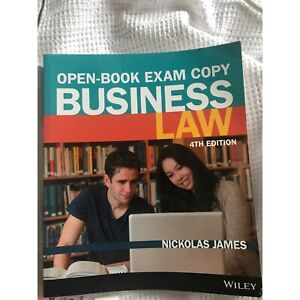 Nickolas James Business Law 4th Edition Pascoe Vale Moreland Area Preview