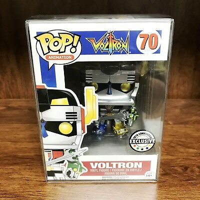 "Funko Pop Animation! 2016 Convention Exclusive Metallic ""VOLTRON"" #70 Vinyl"