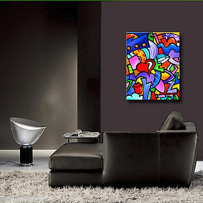 Original Abstract print Modern Home Decor HUGE Canvas Wall Art by Fidostudio