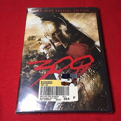 New Sealed & Old Stock The Movie 300 Two-Disc Special Edition DVD - 300 The Movie
