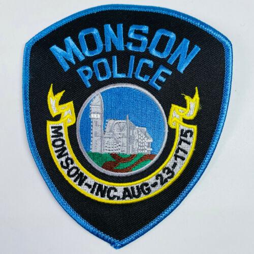 Monson Police Hampden County Massachusetts MA Patch (A6)