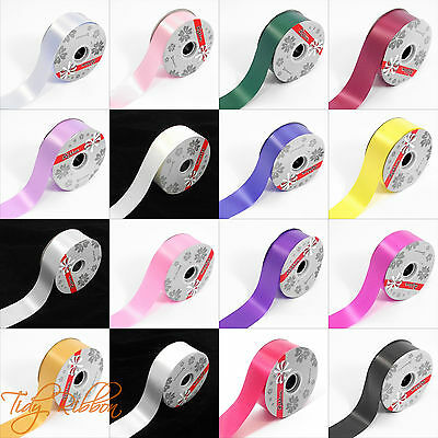 "Florist Poly Ribbon 50mm Wide (2"") Wedding Car Decoration Gift 1m 5m 10m"
