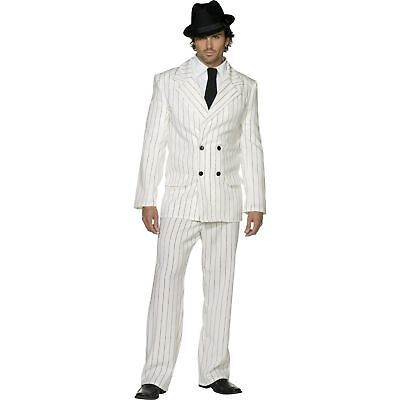 20s Sexy Mafia Gangster Gangsta Boss Zoot Suit Adults Mens Fancy Dress Costume