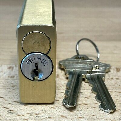 Schlage Primus 6-pin Kik Cylinder W 2 Keys In American Lock Padlock - Locksport