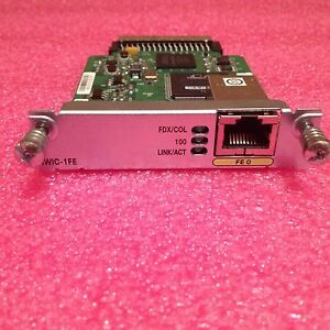 Cisco HWIC-1FE Fast Ethernet Layer 3 WAN Interface Card - 1 Year Warranty!