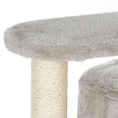 Cat Tree with Sisal-Covered Scratching Posts for Kitten Pet Play Condo Furniture Cat Supplies