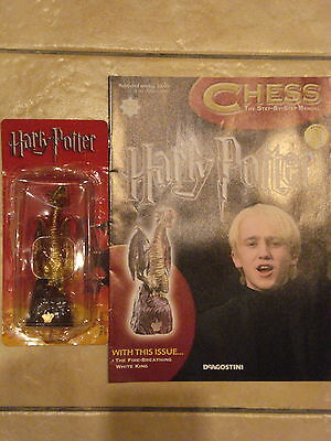 BN HARRY POTTER CHESS MAGAZINE NO.55 WITH THE FIRE BREATHING WHITE KING