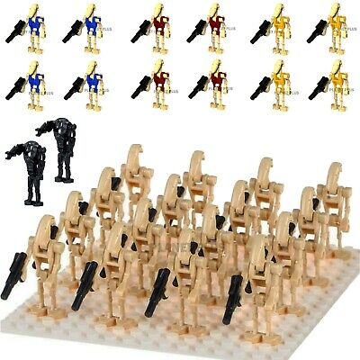 Star Wars CUSTOM Battle Droids Army Lego Mini Figures Building Droid Clones