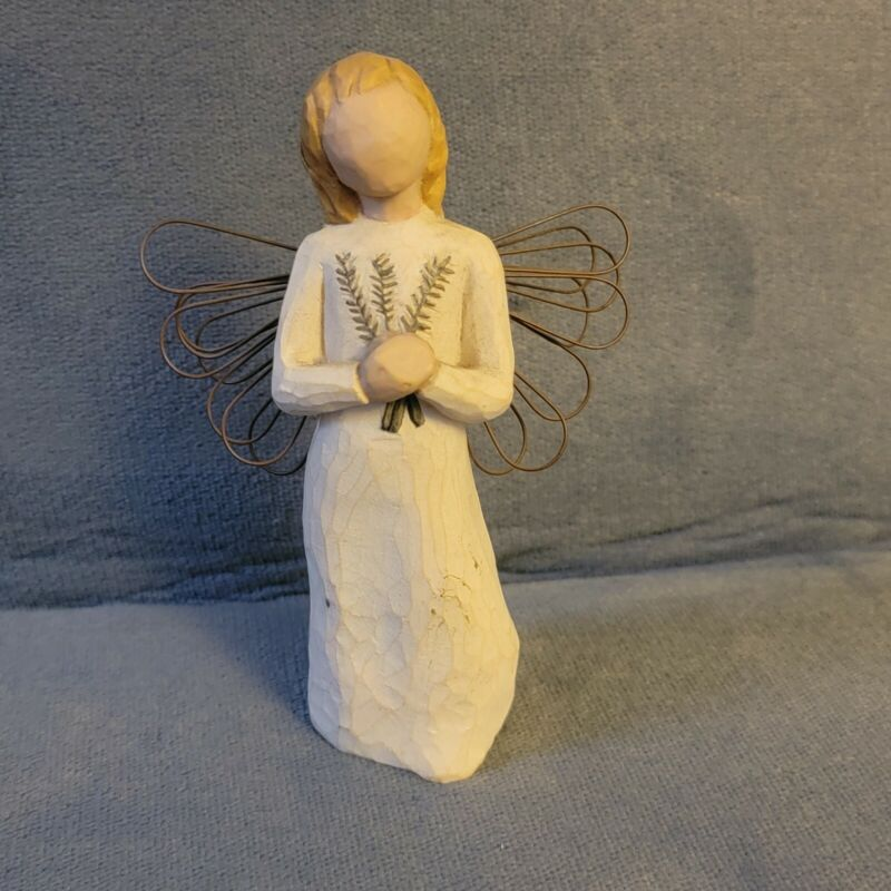 Willow Tree Angel of Remembrance Ornament Figurine Susan Lordi 2001 Collectible