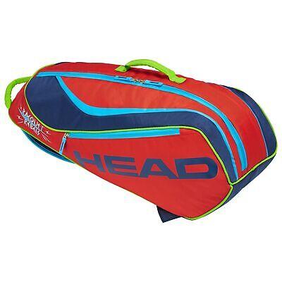 Head Junior Tennis Kindertasche Junior Novak red/navi
