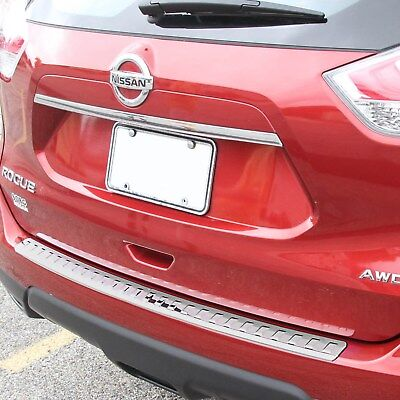 2013-2017 Fits Nissan Rogue Chrome Rear Bumper Protector Cover Scratch Exact New