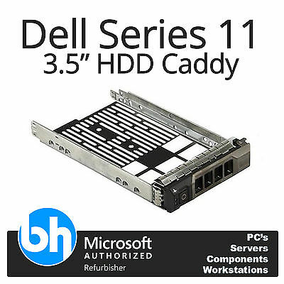 "Dell 3.5"" SAS SATA LFF Hot Plug Hard Drive Tray Caddy G11 R410 R510 R710 0F238F"
