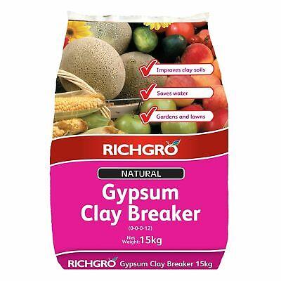 Richgro 15kg Natural Gypsum Clay Breaker - AUSTRALIA BRAND