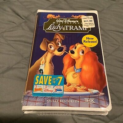 Lady and the Tramp (VHS, 1998)