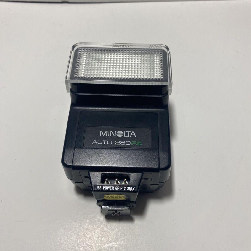 Minolta Auto 280PX Flash Shoe Mount for X700 X570 X370 XG