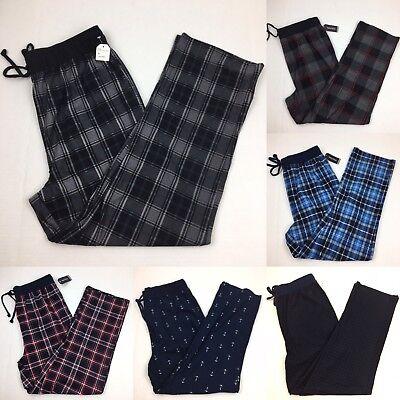 NEW Mens Nautica Sleepwear Soft Fleece Lounge Pajama Pants Large - New Large Lounge