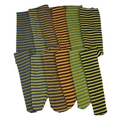 Bee Costume Accessories Adults (Adult Striped Clown Dwarf Rag Doll Bee Hogwarts Long Socks Costume Accessory)