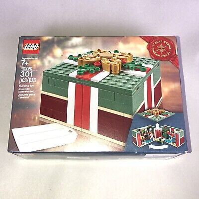 LEGO 40292 Buildable Holiday Present Christmas Gift New SEALED