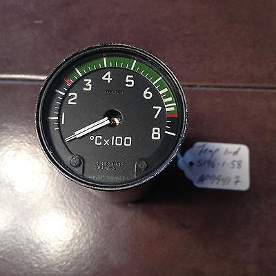 Weston Temp Indicator  C x 100 , pn S196-1-58,  sn AP99417