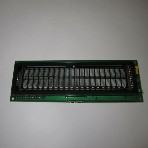 Futaba Display VFD M202MD08A IBM P/N 41k6814 20x2 1P00A288-01 REV.D