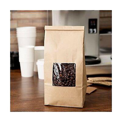 Bakery Bags With Window Kraft 12 Lb Tin Tie Coffee Bakery Bags Wwindow