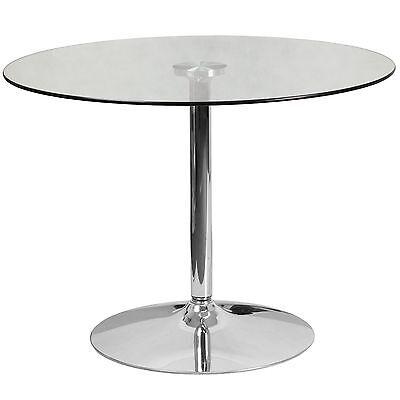 Budget Glass Restaurant Bar Pub Cocktail Table 39.25