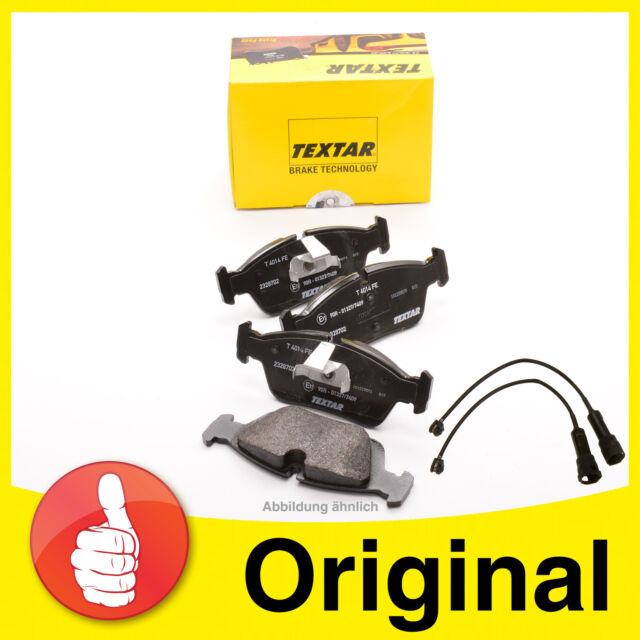 TEXTAR Bremsbeläge mit ATE Warnkontakt für vorne BMW 3er E90 E91 E92 E93 1er E87
