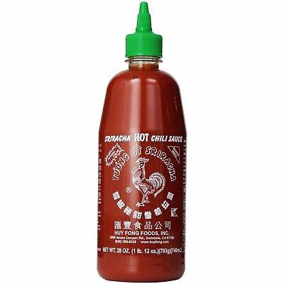 Huy Fong Hot Sauce (Huy Fong 17oz / 482gm Sriracha Hot Chili Sauce USA SELLER FAST)