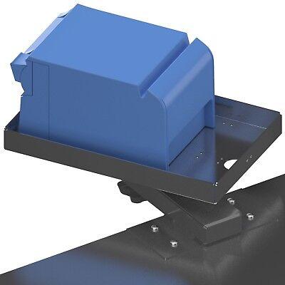 Point Of Sale Pos Shelf Edge Mount 4 Stainless Steel Arm Printer Tray Pn80129