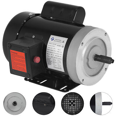 1 Hp Electric Motor 56c 1 Phase Tefc 1800rpm General Rated 1725rpm 13.66.8a