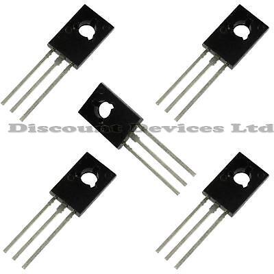 5 X Bd139 Npn Power Transistor