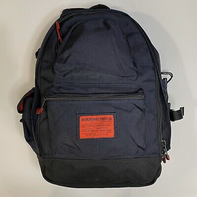 Vintage Abercrombie & Fitch Kennan A-16 Blue Backpack. 90's Excellent Condition